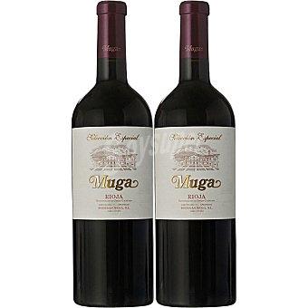 Muga Vino tinto reserva especial D.O. Rioja Estuche 2 botellas 75 cl Estuche 2 botellas 75 cl
