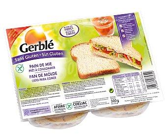 Gerblé Pan de molde sin gluten 300 gramos
