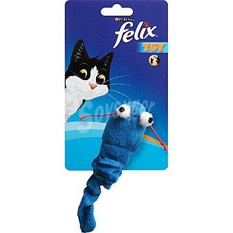 FELIX TOY Juguete para gato modelo ratón azul  1 unidad