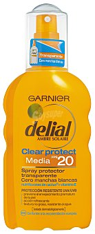 Delial Garnier Spray Solar F-20 Delial Clear Protect 200 ml