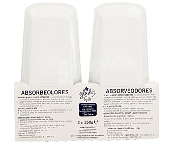 Glade Brise Ambientador absorveolores relax zen Pack de 2x150 ml