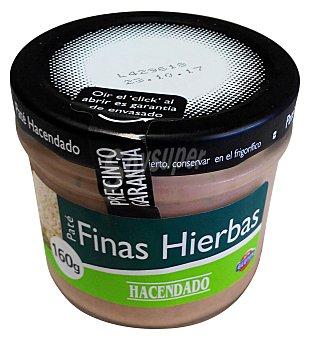 HACENDADO PATE FINAS HIERBAS TARRO 160 g