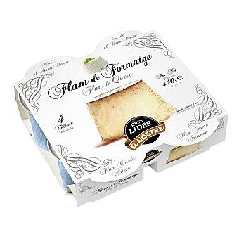 Lago y Puig Flan de queso Pack de 4 unidades de 27 g