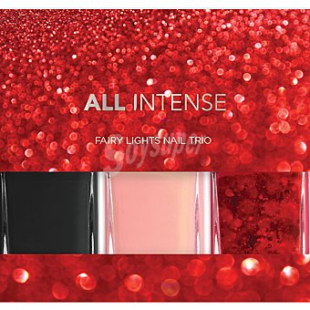 All Intense Laca de uñas Fairy Lights Nail Pack 3 frasco 10 ml
