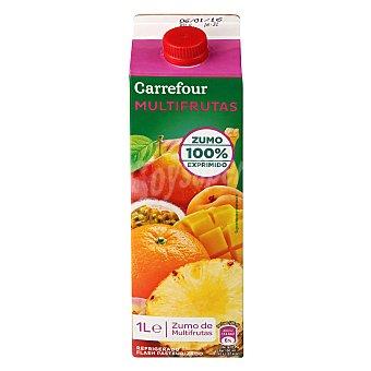 Carrefour Zumo multifruta refrigerado 1 l