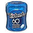 Chicle menta 60 minutos Bote 72 g Trident