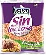 Queso rallado Emmental sin lactosa Bolsa 100 g Kaiku