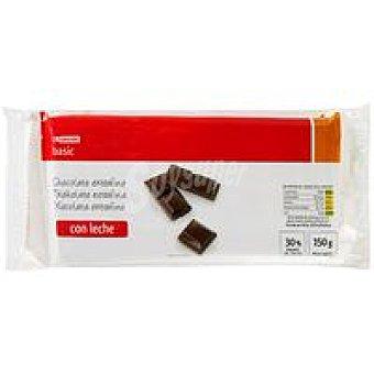 Eroski Basic Chocolate con leche Pack 3x150 g