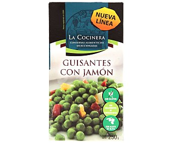 La Cocinera Guisantes con Jamón 250 Gramos