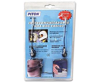 PITON Intercomunciador para Casos de Moto. 1 Unidad