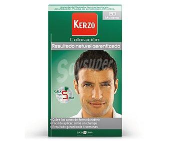 Kerzo Crema coloración nº 20 Moreno caja 1 unidad solo en 5 min Caja 1 unidad