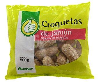 Productos Económicos Alcampo Croquetas de jamón 500 gramos