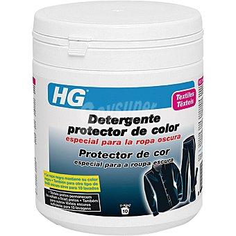 HG detergente protector de color especial para la ropa oscura bote 600 ml