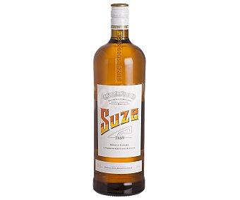Suze Aperitivo con alcohol elaborado en Francia botella de 1.5 l