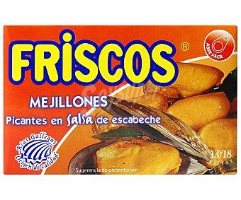 Friscos Mejillones picantes en escabeche 69 gramos