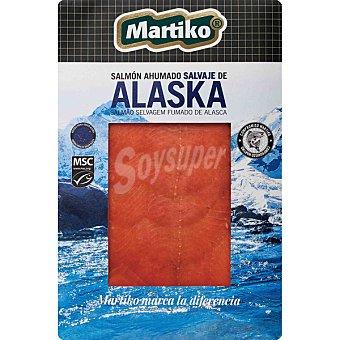Martiko Salmón ahumado salvaje de Alaska Envase 80 g