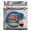 Café Marcilla descafeinado Envase 16 cápsulas Tassimo