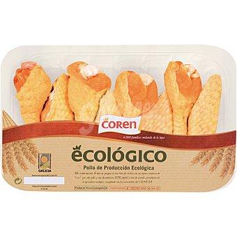 Coren Alas de pollo ecológico 7-9 unidades peso aproximado bandeja 400 g 7-9 unidades