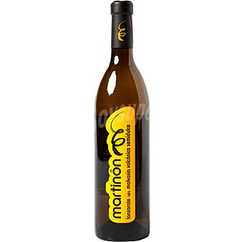 Martinon Vino blanco seco malvasía volcánica semidulce DO Lanzarote Botella 75 cl