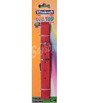 Vitakraft Collar de cuero estampado 57cm 22mm 1 un