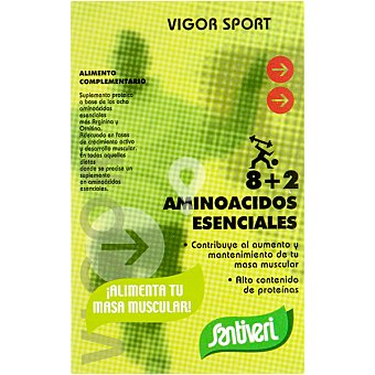 Vigor Sport Aminoácidos esenciales 8+2 estuche 60 capsulas