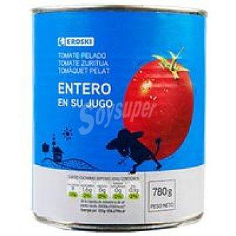 Eroski Tomate natural entero pelado Lata 480 g