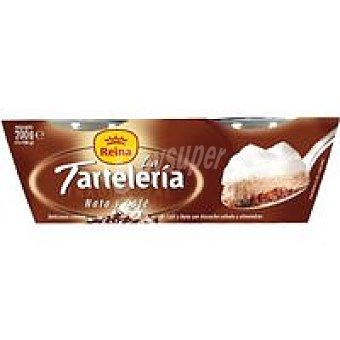 Postres Reina Tartelería de nata-café Pack 2x100 g