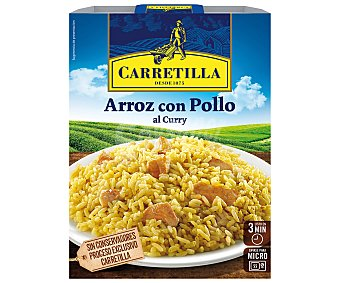 Carretilla Arroz con pollo al curry Envase 300 g