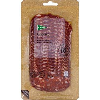 El Corte Inglés Chorizo extra en lonchas Envase 150 g