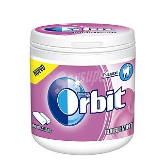 Orbit Chicle Bubblemint sin azúcar nueva fórmula 60 grageas (84 g)