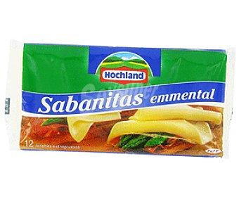 Hochland Sabanitas Queso Emmental en Lonchas 250 Gramos