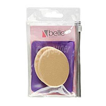 Belle Esponja ovalada látex  Pack 1 unid