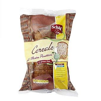 SCHAR Mastro Panettiere pan de molde con cereales sin gluten y sin lactosa envase 300 g