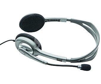 Logitech Auriculares tipo Diadema H110 con cable y micrófono