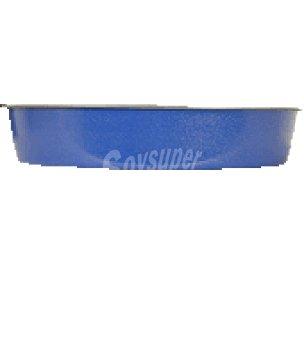 Carrefour Molde alto 28 cm. azul