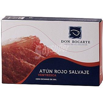 Don bocarte Ventresca de atún rojo salvaje en aceite de oliva lata 85 g lata 85 g
