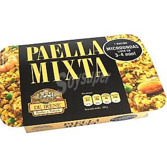 De irene Paella mixta para microondas 1 ración Bandeja 300 g