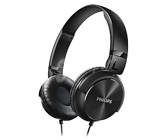 Philips Auricular cerrado color negro SHL3060BK