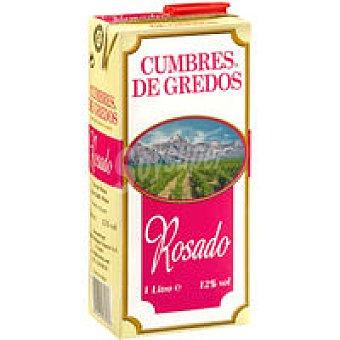 Cumbres de Gredos Vino Rosado de mesa Brik 1 litro