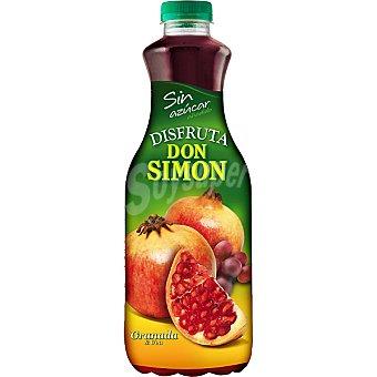 DON SIMON DISFRUTA Zumo granada y uva sin azúcar añadido Botella 1,5 l