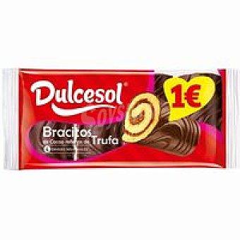 Dulcesol Bracitos de trufa 4 unid