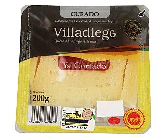 Villadiego Queso manchego artesano ya cortado 200 g