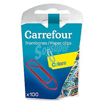 Carrefour Clips de colores 100 ud