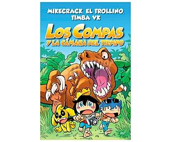 MR Los compas y la cámara del tiempo, EL trollino, timba VK mikecrack. Género: infantil. Editorial Mr.