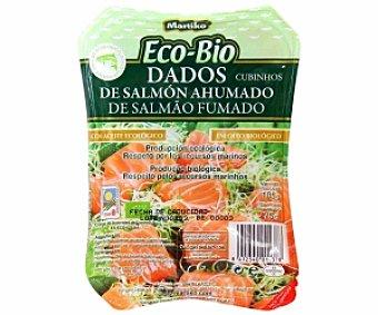 Martiko Dados de salmón ahumado ecológico 105g