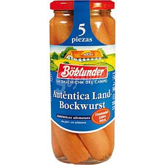 Boklunder Salchichas Landbockwurst 5 piezas frasco 360 g 5 frasco 360 g