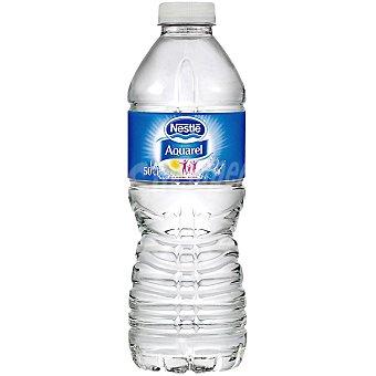 Aquarel Nestlé Agua mineral de manantial sin gas Botella 50 cl