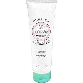 PERLIER White Almond Crema de baño y ducha para piel sensible Tubo 250 ml