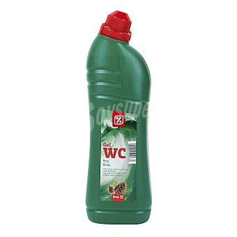 DIA Limpiador gel WC verde  Botella 1 Litro