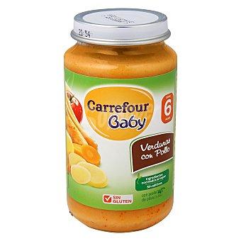 Carrefour Baby Tarrito de verduras con pollo 250 g